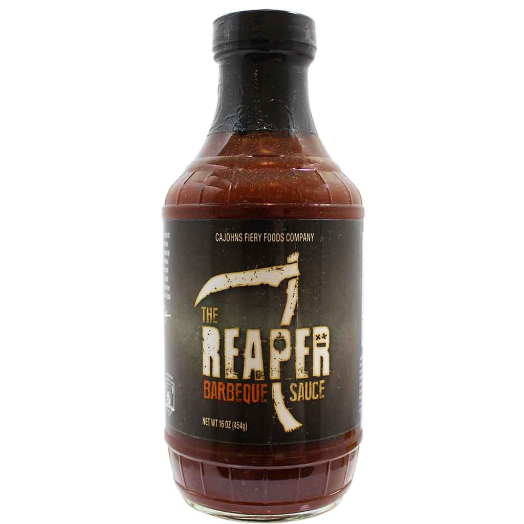 Cajohns Reaper BBQ sauce