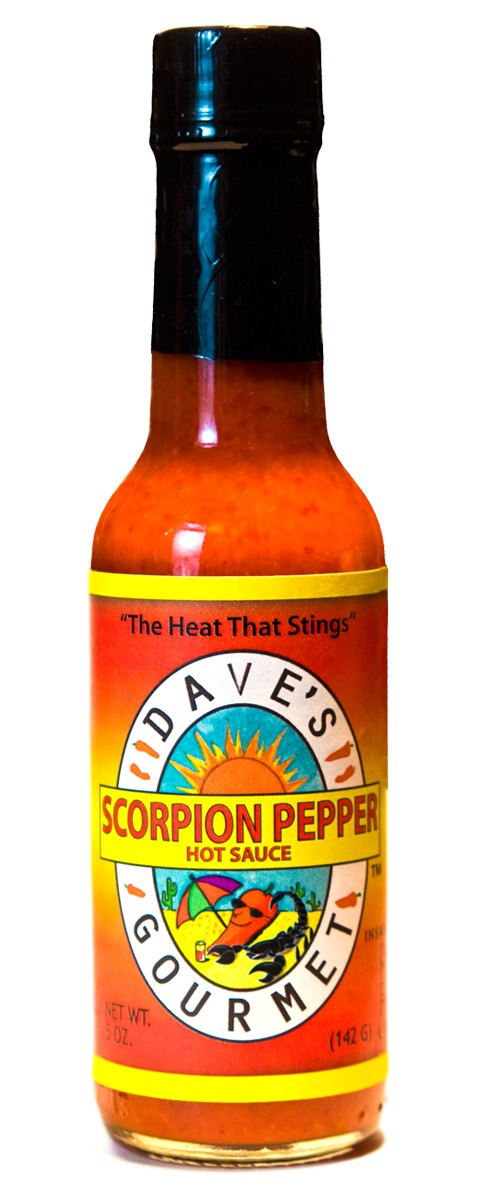 Dave's Gourmet Scorpion Pepper Sauce